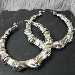 Free Press Hoop Earrings